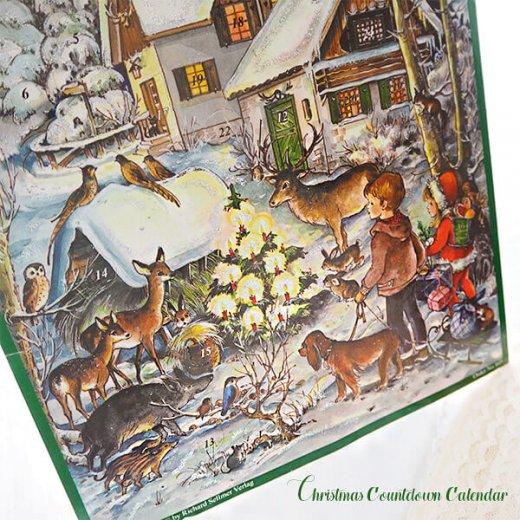 ドイツ クリスマス アドベントカレンダー【M】<森の小さなクリスマス>【画像5】