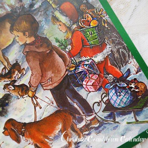 ドイツ クリスマス アドベントカレンダー【M】<森の小さなクリスマス>【画像6】