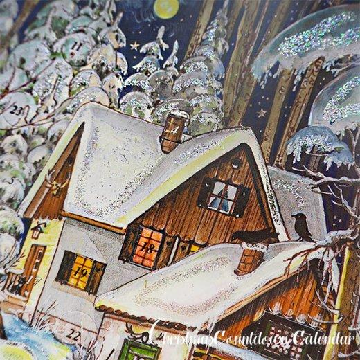 ドイツ クリスマス アドベントカレンダー【M】<森の小さなクリスマス>【画像7】