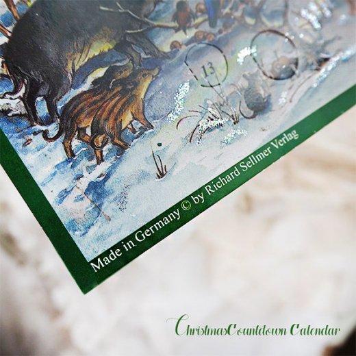ドイツ クリスマス アドベントカレンダー【M】<森の小さなクリスマス>【画像8】