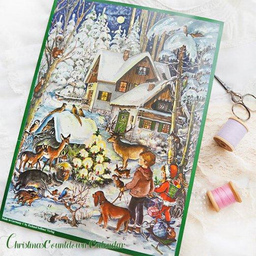 ドイツ クリスマス アドベントカレンダー【M】<森の小さなクリスマス>【画像10】