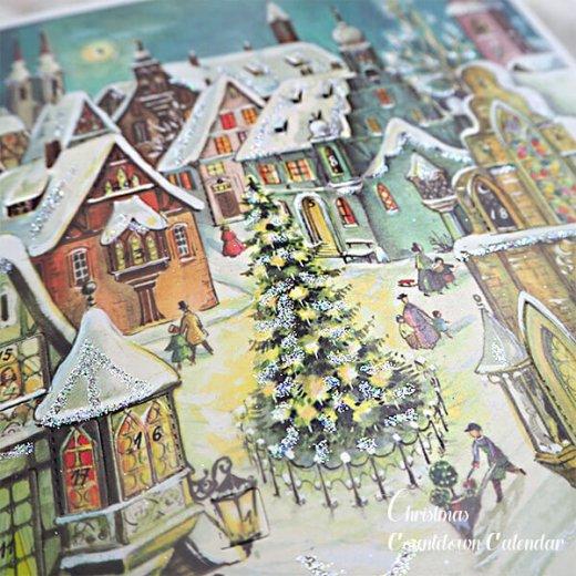 ドイツ クリスマス アドヴェントカレンダー【Mサイズ】<聖夜>【画像2】