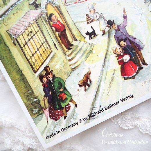 ドイツ クリスマス アドヴェントカレンダー【Mサイズ】<聖夜>【画像6】