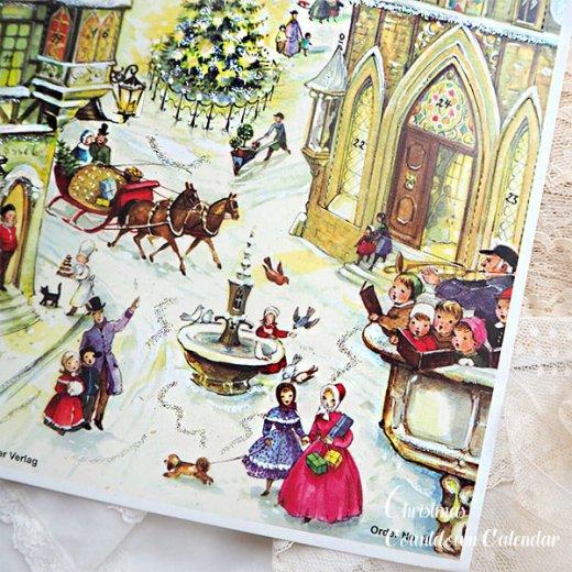 ドイツ クリスマス アドヴェントカレンダー【Mサイズ】<聖夜>【画像7】