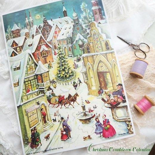 ドイツ クリスマス アドヴェントカレンダー【Mサイズ】<聖夜>【画像8】