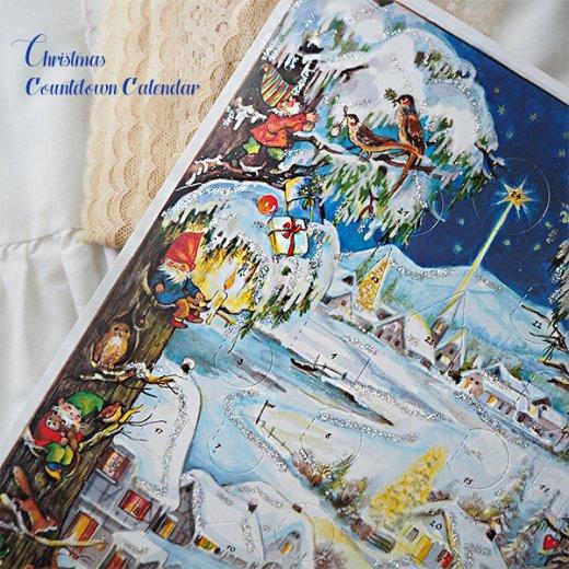 ドイツ クリスマス アドヴェントカレンダー【M】<クリスマス 小人と森の動物たち>【画像6】
