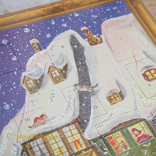 ドイツ クリスマス アドヴェントカレンダー【L】<クリスマス ビクトリア朝>【画像3】