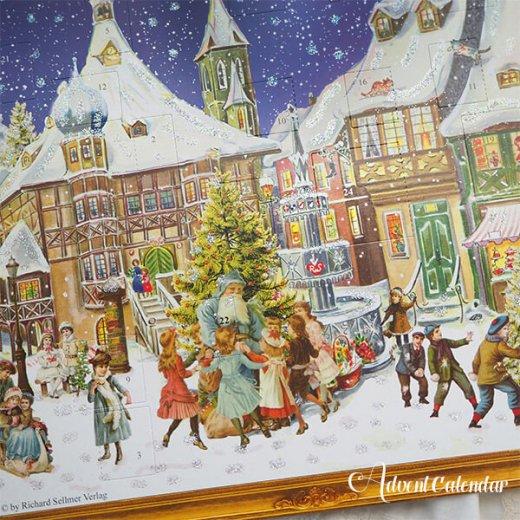 ドイツ クリスマス アドヴェントカレンダー【L】<クリスマス ビクトリア朝>【画像4】