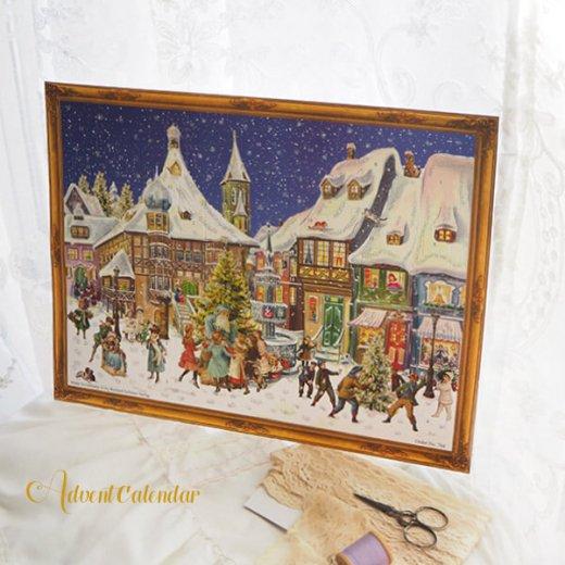 ドイツ クリスマス アドヴェントカレンダー【L】<クリスマス ビクトリア朝>【画像6】