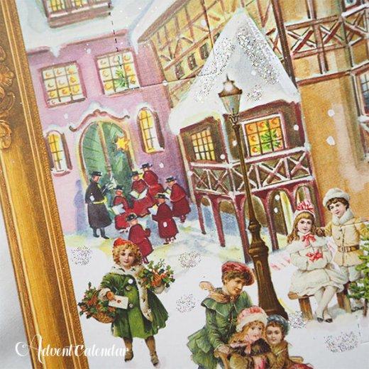 ドイツ クリスマス アドヴェントカレンダー【L】<クリスマス ビクトリア朝>【画像7】
