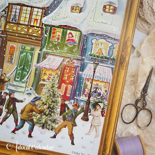 ドイツ クリスマス アドヴェントカレンダー【L】<クリスマス ビクトリア朝>【画像8】