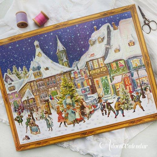 ドイツ クリスマス アドヴェントカレンダー【L】<クリスマス ビクトリア朝>【画像9】