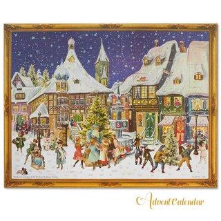 ドイツ クリスマス アドヴェントカレンダー【L】<クリスマス ビクトリア朝>