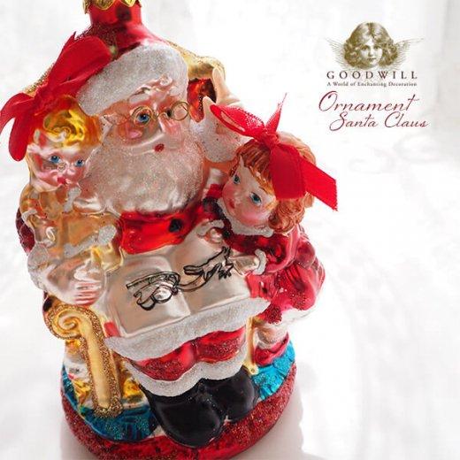 グッドウィル GOODWILL ベルギー直輸入 オーナメント 【サンタクロース】クリスマス【画像2】
