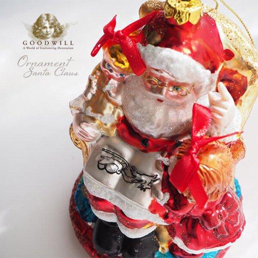 グッドウィル GOODWILL ベルギー直輸入 オーナメント 【サンタクロース】クリスマス【画像3】