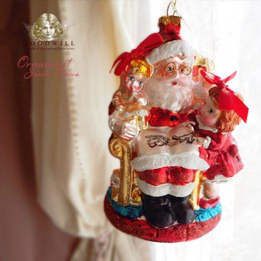 グッドウィル GOODWILL ベルギー直輸入 オーナメント 【サンタクロース】クリスマス【画像4】