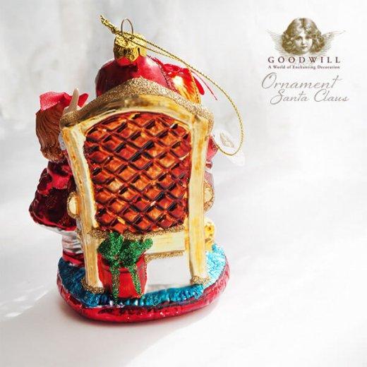 グッドウィル GOODWILL ベルギー直輸入 オーナメント 【サンタクロース】クリスマス【画像6】