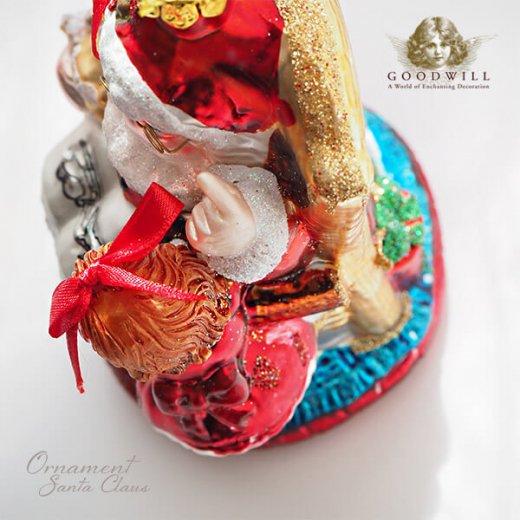 グッドウィル GOODWILL ベルギー直輸入 オーナメント 【サンタクロース】クリスマス【画像7】