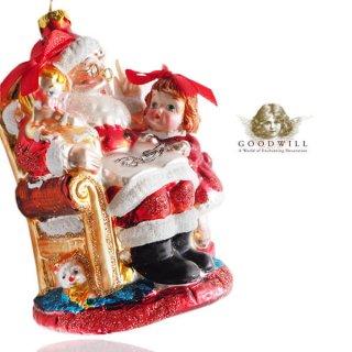 グッドウィル GOODWILL ベルギー直輸入 オーナメント 【サンタクロース】クリスマス