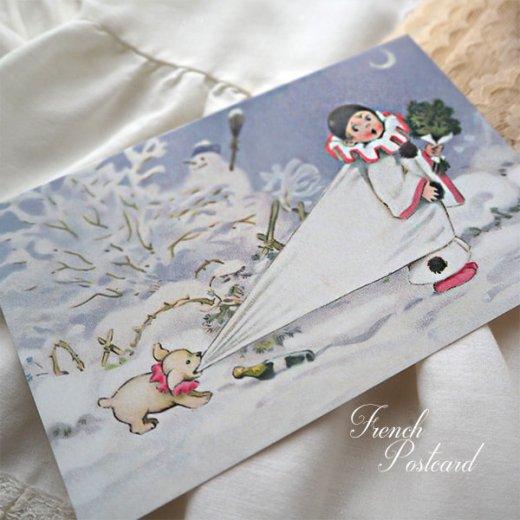 フランス クリスマス ポストカード (L'enfant perdu)【画像2】