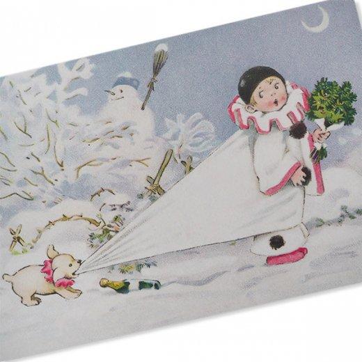 フランス クリスマス ポストカード (L'enfant perdu)【画像6】