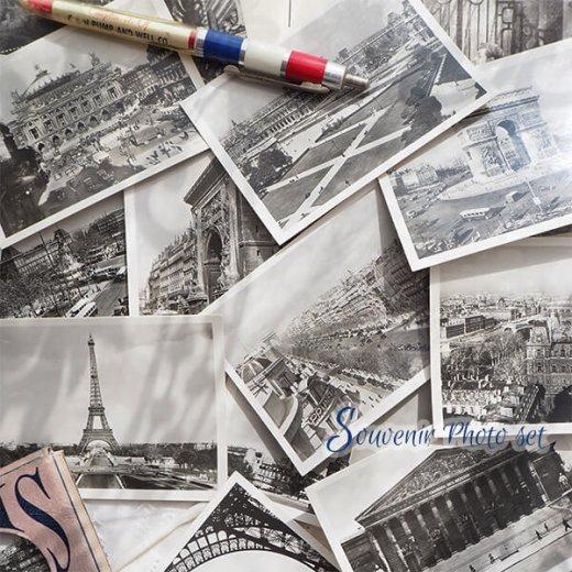 フランス 1930年代 アンティーク スーベニア フォトカードセット(エッフェル塔 凱旋門ほか)series2【画像4】