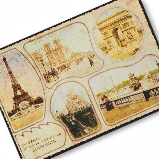 フランス エッフェル塔 ポストカード De PARIS je vous envoie ce SOUVENIR【画像2】