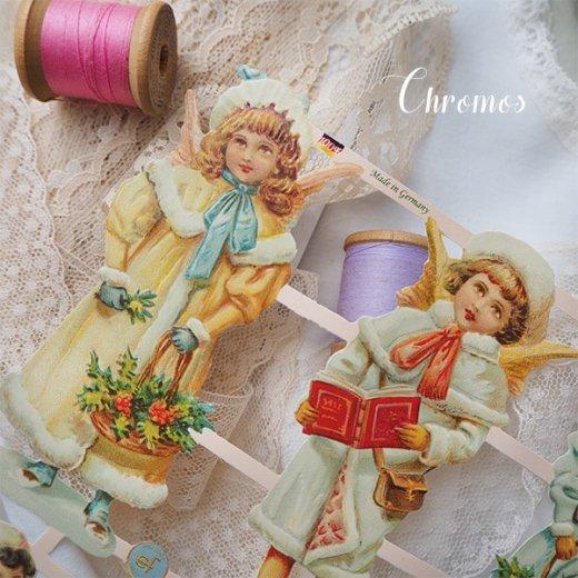 ドイツ クロモス【M】クリスマス 天使の訪問【画像3】