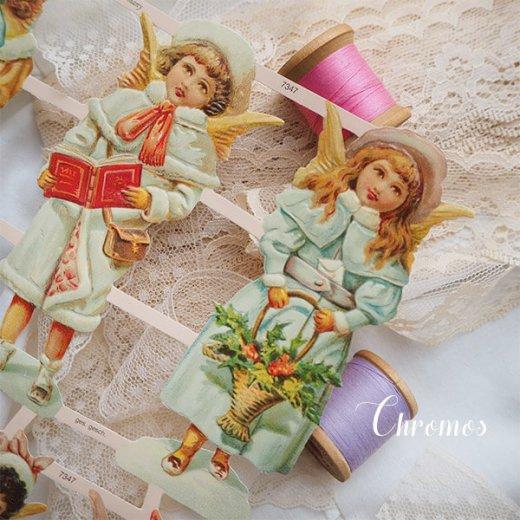ドイツ クロモス【M】クリスマス 天使の訪問【画像4】