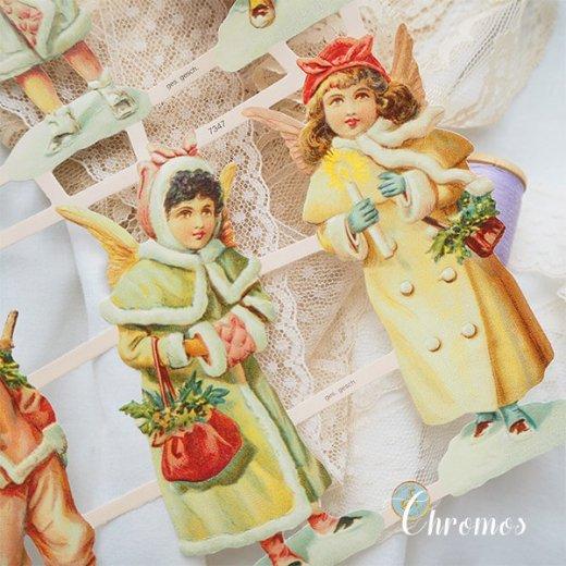 ドイツ クロモス【M】クリスマス 天使の訪問【画像6】