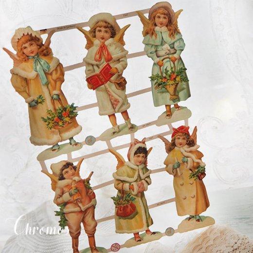 ドイツ クロモス【M】クリスマス 天使の訪問【画像7】