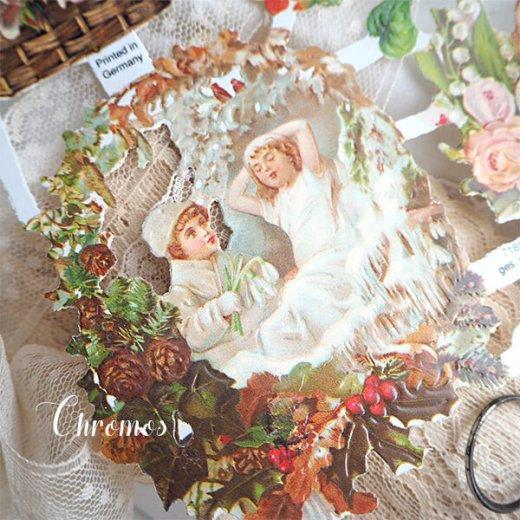 ドイツ クロモス【M】花と幼子と四季【画像3】
