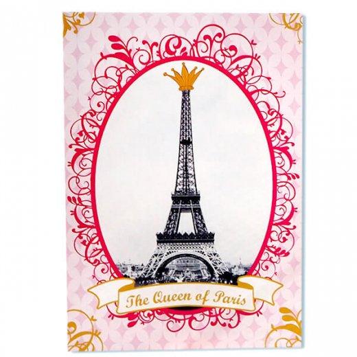 フランス エッフェル塔 ポストカード Queen of PARIS