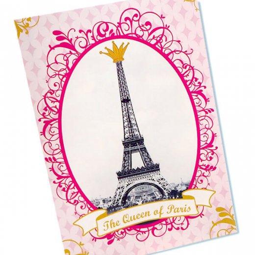 フランス エッフェル塔 ポストカード Queen of PARIS【画像2】