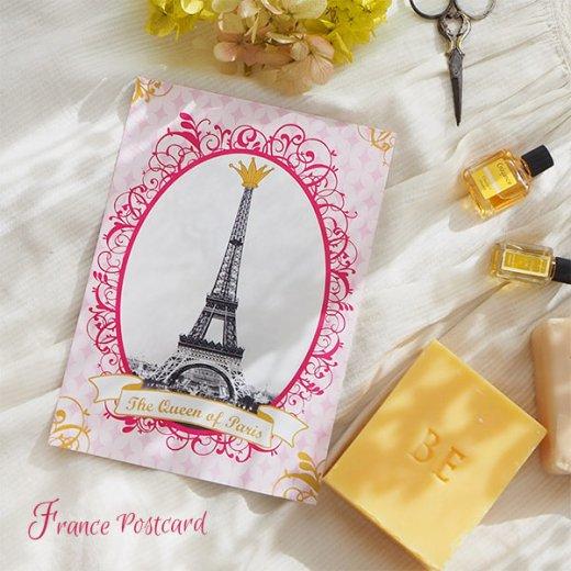 フランス エッフェル塔 ポストカード Queen of PARIS【画像4】