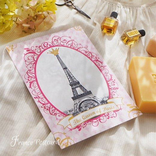 フランス エッフェル塔 ポストカード Queen of PARIS【画像6】