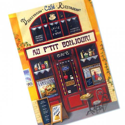 フランス ポストカード(AU P'TIT BONJOUR!)【画像2】