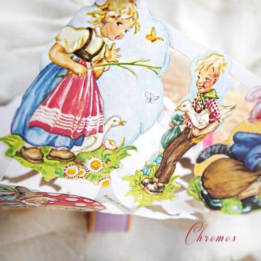 ドイツ クロモス【M】おとぎ話(長靴をはいた猫・シンデレラ・白雪姫)【画像3】