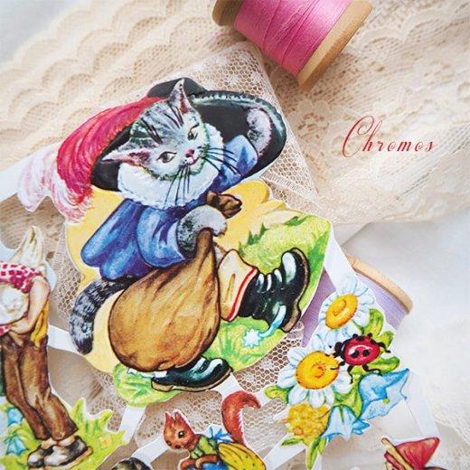 ドイツ クロモス【M】おとぎ話(長靴をはいた猫・シンデレラ・白雪姫)【画像4】