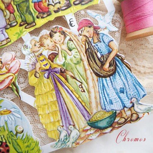 ドイツ クロモス【M】おとぎ話(長靴をはいた猫・シンデレラ・白雪姫)【画像5】
