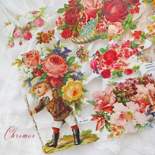 ドイツ クロモス【M】(バラと鳩・幸せの靴)【画像4】