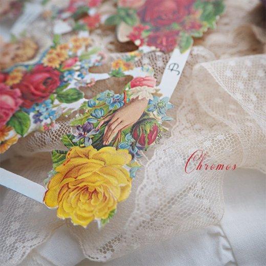 ドイツ クロモス【M】(バラと鳩・幸せの靴)【画像6】