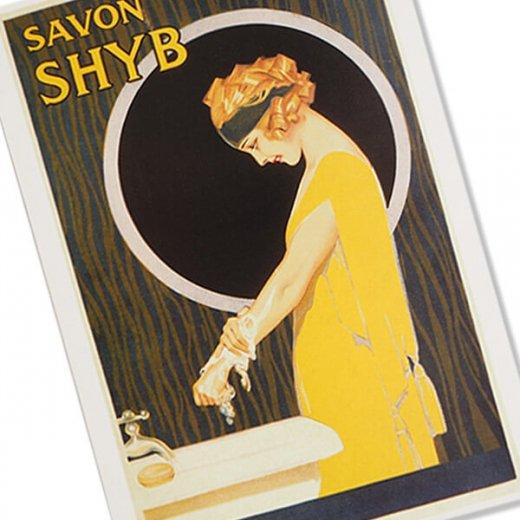 フランス ポストカード(SAVON SHYB)【画像2】