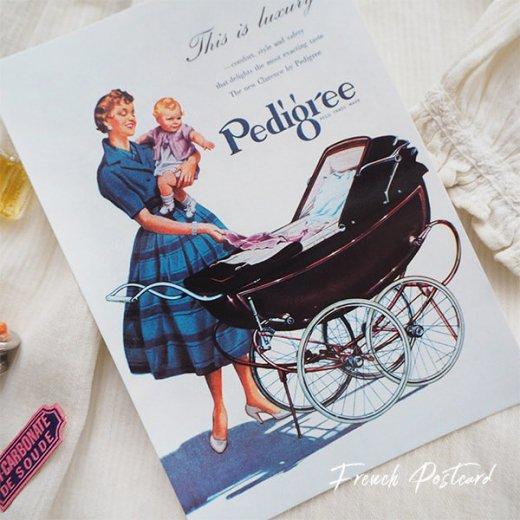イギリス アドバタイジング ポストカード(pedigree baby carriage)【画像5】