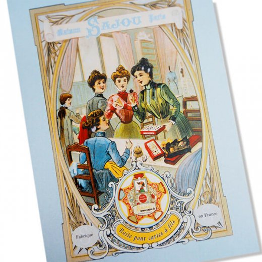 フランス SAJOU ポストカード【SALON DE COUTURE】【画像2】