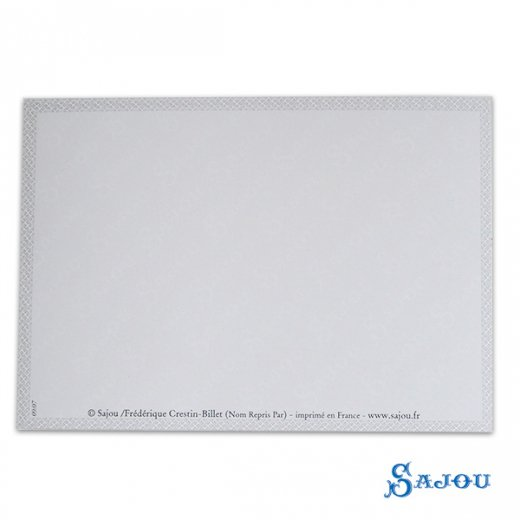 フランス SAJOU ポストカード【SALON DE COUTURE】【画像6】