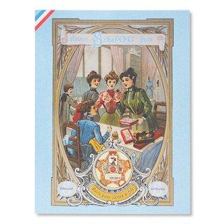 フランス SAJOU ポストカード【SALON DE COUTURE】