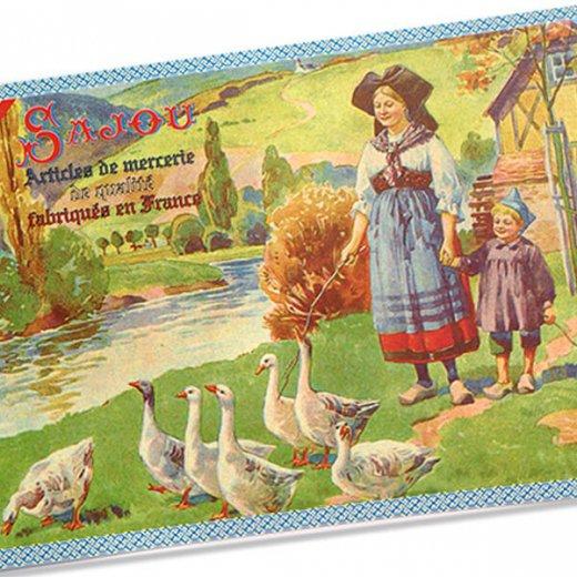 フランス SAJOU ポストカード【Alsace】【画像2】