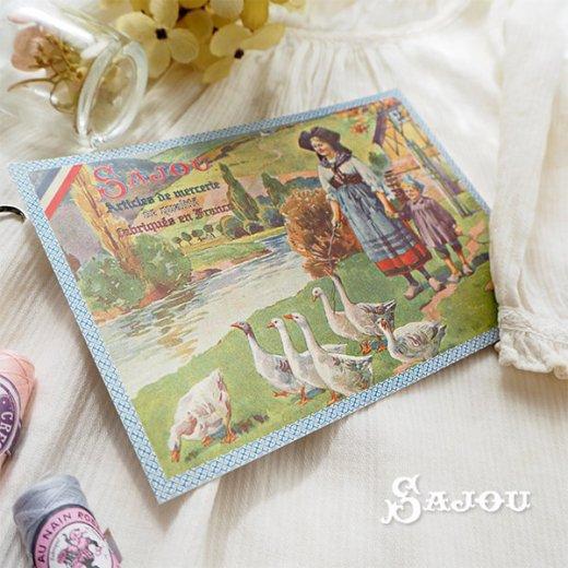 フランス SAJOU ポストカード【Alsace】【画像3】