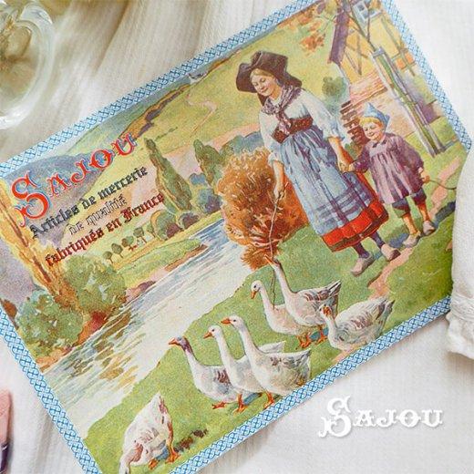 フランス SAJOU ポストカード【Alsace】【画像4】